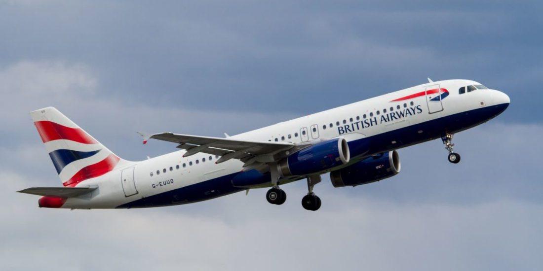 British Airways Flight operating A320
